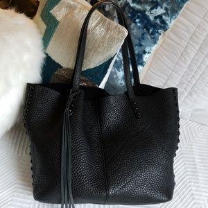 Rebecca Minkoff Pebbled Shoulder Tassel bag